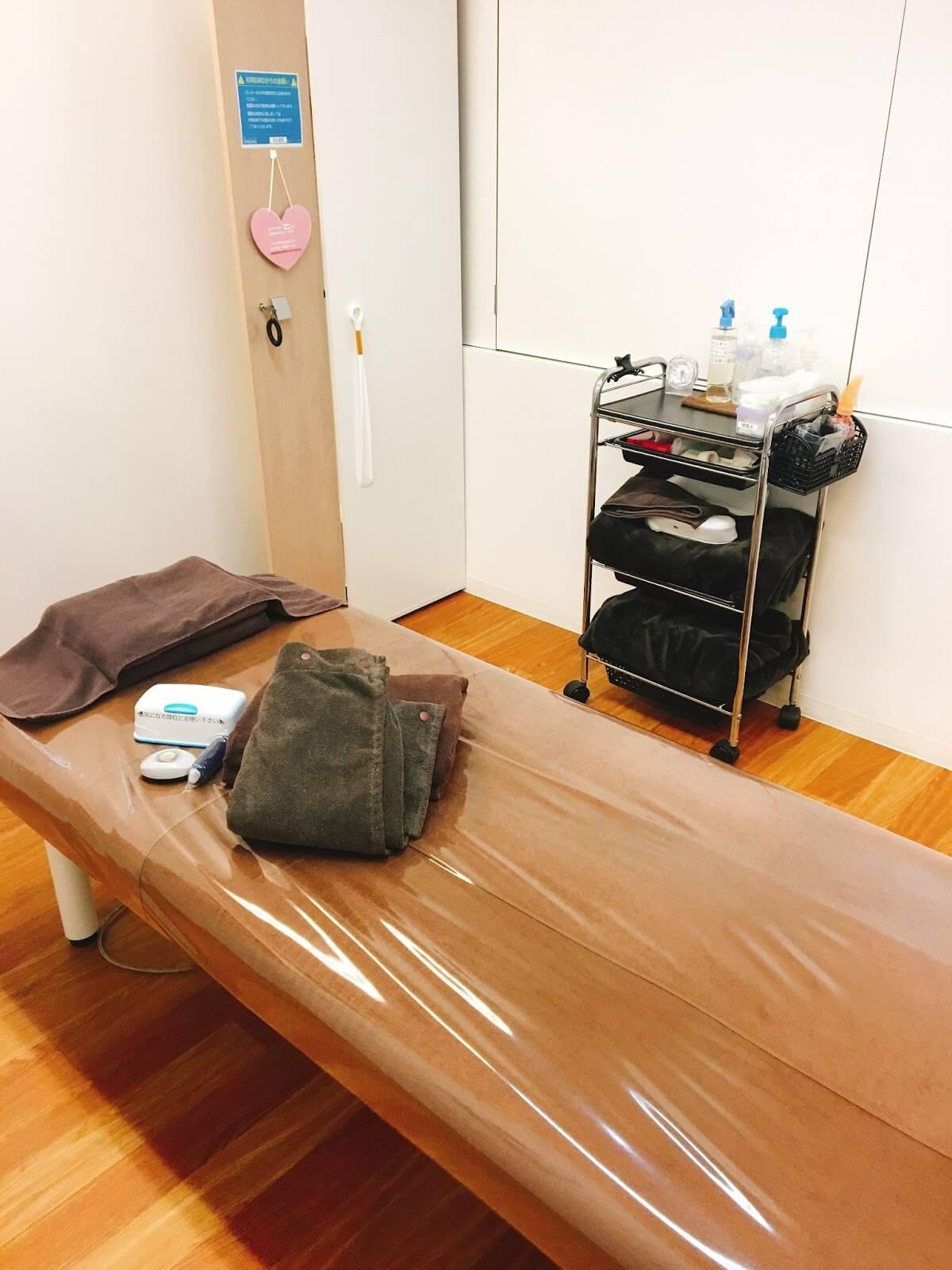 キレイモのベッドの写真